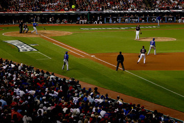 Anthony Rizzo World Series - Chicago Cubs v Cleveland Indians - Game Six