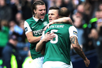 Anthony Stokes Rangers v Hibernian - William Hill Scottish Cup Final