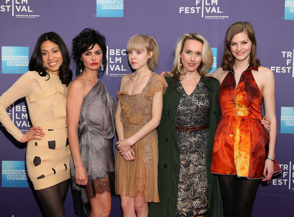 "Premiere Of ""Lotus Eaters"" At The 2011 Tribeca Film Festival [event,fashion,award,premiere,carpet,fashion design,dress,lotus eaters,jai choi,cynthia fortune ryan,antonia campbell-hughes,katrena rochell,amber anderson,sva theater,2011 tribeca film festival,premiere,premiere]"