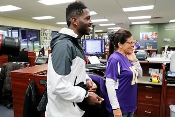 Antonio Brown 2018 Big Game Weekend Hearing Mission With Starkey Hearing Technologies