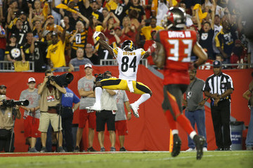 Antonio Brown Pittsburgh Steelers v Tampa Bay Buccaneers