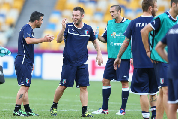 Italy Training and Press Conference - UEFA EURO Final 2012 []