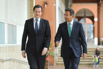 Antonio Horta-Osorio George Osbourne Speaks to Lloyds Staff