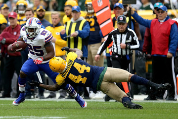 Antonio Morrison Buffalo Bills vs. Green Bay Packers