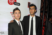 "Actor Zac Efron and director Ramin Bahrani attend ""At Any Price"" premiere post party during the 2012 Toronto International Film Festival on September 9, 2012 in Toronto, Canada."