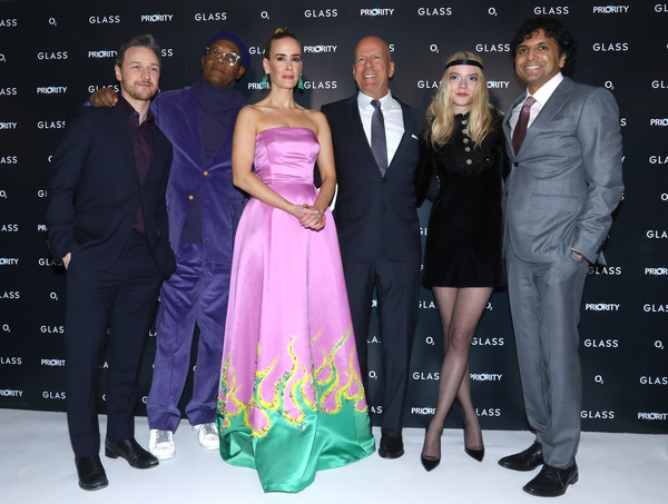 UK Premiere Of M. Night Shyamalan's 'Glass'