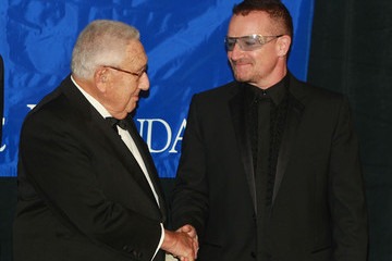 Bono Henry Kissinger Appeal Of Conscience Foundation's Annual Awards Ceremony