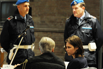 Carlo Dalla Vedova Appeal Trial Of Amanda Knox Continues Over The Guilty Verdict In The Murder Of Meredith Kercher