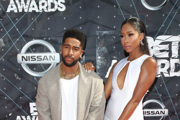 Apryl Jones Celebs Arrive at the 2015 BET Awards