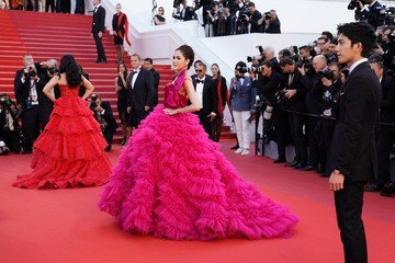 Araya Hargate 'The Square' Red Carpet Arrivals - The 70th Annual Cannes Film Festival