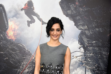 Archie Panjabi Premiere Of Warner Bros.' 'San Andreas' - Arrivals