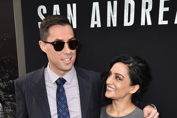 Archie Panjabi Premiere Of Warner Bros.' 'San Andreas' - Red Carpet