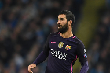 Arda Turan Manchester City FC v FC Barcelona - UEFA Champions League
