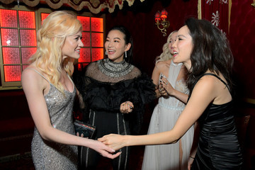 Arden Cho Lancôme x Vogue L'Absolu Ruby Holiday Event