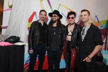 Arejay Hale GBK & STK At The W Hotel Pre-Grammy Lounge