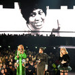 Aretha Franklin 61st Annual Grammy Awards - Inside