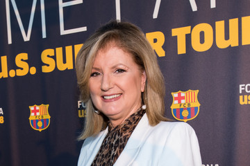 Arianna Huffington FC Barcelona Welcome Party