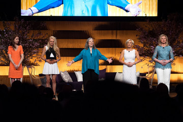 Arianna Huffington Isabella Huffington THRIVE: A Third Metric Live Event: Day 2