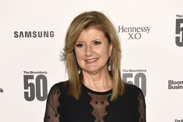 """Arianna Huffington """"The Bloomberg 50"""" Celebration In New York City - Arrivals"""