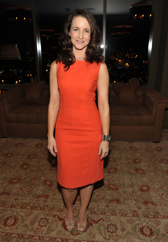 Kristin Davis In Ariel Foxman Editor Of Instyle And The Council Of Fashion Designers Of