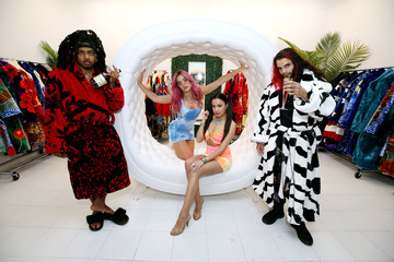 Ariel Lyndsey Grand Opening Of Daddy Robes Boutique In Los Angeles, CA