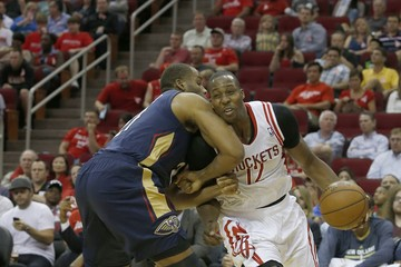 Arinze Onuaku New Orleans Pelicans v Houston Rockets