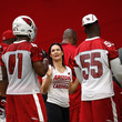 Jen Welter and Gabe Martin Photos