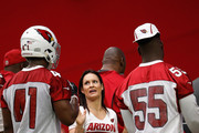 Jen Welter and Gabe Martin Photos Photo