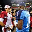 Matt Leinart and Vince Young Photos