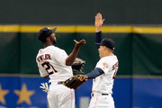 Dexter Fowler and George Springer Photos Photo