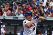 Jay Bruce #19 of the New York Mets bats against the Arizona Diamondbacks during their game at Citi Field on May 20, 2018 in New York City.