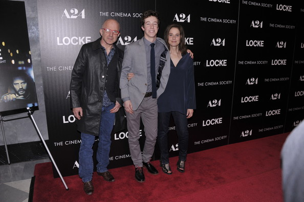 'Locke' Premieres in NYC [premiere,event,carpet,technology,red carpet,flooring,locke,arliss howard,arrivals,gideon babe ruth howard,debra winger,l-r,the paley center for media,a24,the cinema society host,premiere]