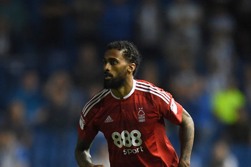 Armand Traore Brighton & Hove Albion, v Nottingham Forest: Sky Bet Championship
