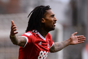 Armand Traore Nottingham Forest v Cardiff City - Sky Bet Championship