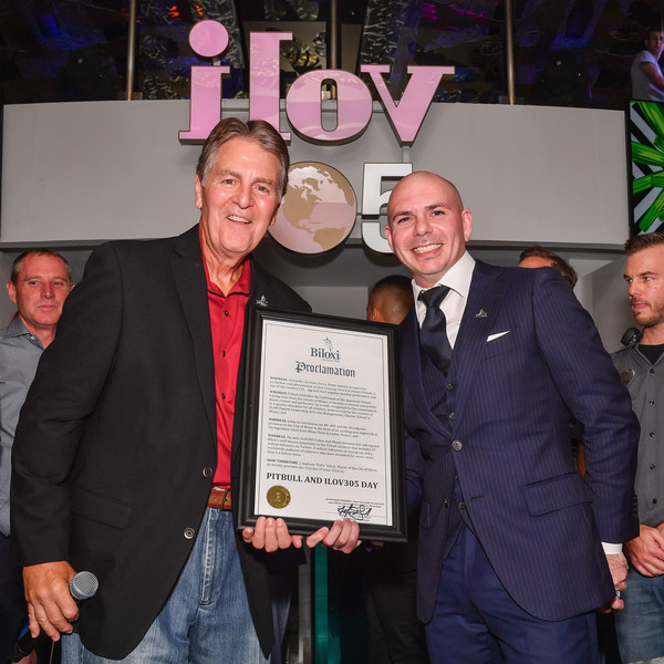Grand Opening Of iLov305 At Hard Rock Hotel And Casino Biloxi With Pitbull