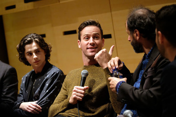 Armie Hammer Luca Guadagnino NYFF55 Live With FIJI Water Featuring 'Call Me by Your Name'