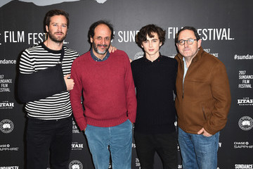 Armie Hammer Luca Guadagnino 'Call Me By Your Name' Premiere - 2017 Sundance Film Festival
