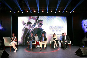 Arnold Schwarzenegger 'Terminator Genisys' China Tour - Press Conference