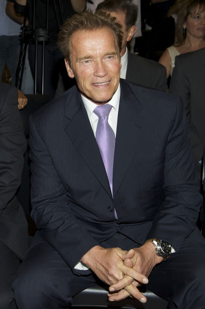 ... Arnold Schwarzenegger attends 'Arnold Classic Europe' 2011 Party