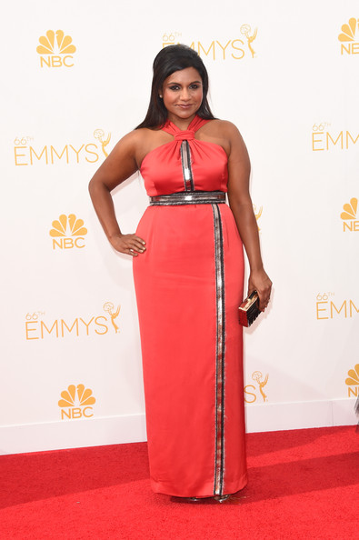 Actress/writer Mindy Kaling attends the 66th Annual Primetime Emmy Awards held at Nokia Theatre L.A. Live on August 25, 2014 in Los Angeles, California.