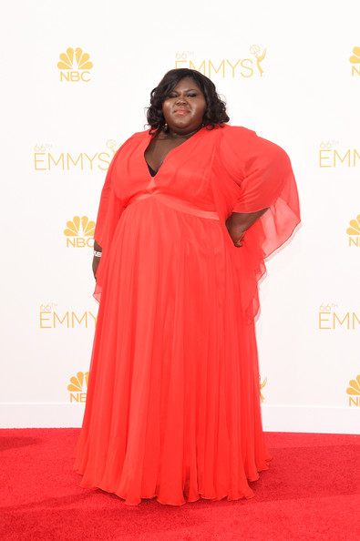 Actress Gabourey Sidibe attends the 66th Annual Primetime Emmy Awards held at Nokia Theatre L.A. Live on August 25, 2014 in Los Angeles, California.
