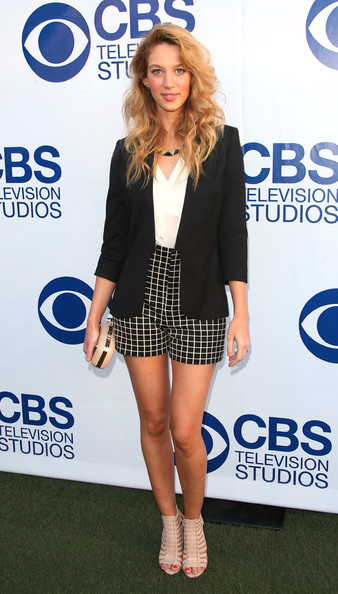 Arrivals at the CBS Summer Soiree