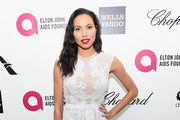 Actress Jurnee Smollett attends the 23rd Annual Elton John AIDS Foundation Academy Awards Viewing Party on February 22, 2015 in Los Angeles, California.