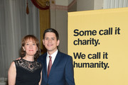 Louise Miliband and IRC President and CEO David Miliband attend the Annual Freedom Award Benefit hosted by the International Rescue Committee at the Waldorf-Astoria hotel on November 6, 2013 in New York City.