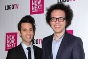 Ian Axel (R) and Chad Vaccarino (L) from A Great Big World attend Logo TV's 2014 NewNowNext Awards at the Kimpton Surfcomber Hotel on December 2, 2014 in Miami Beach, Florida.