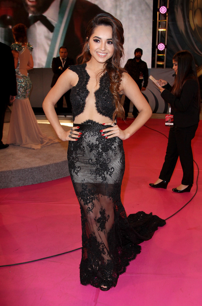 Becky G Arrivals at the Premios Lo Nuestros Awards — Part 2