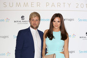 Kian Egan and Jodi Albert attend the Sentebale Summer Party at the Dorchester Hotel on May 7, 2014 in London, England.