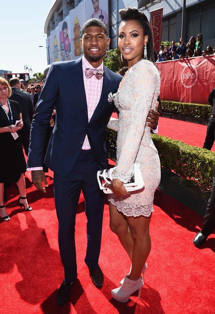 paul george and callie rivers the hottest couples at the