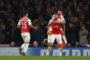 Alexis Sanchez and Olivier Giroud Photos Photo