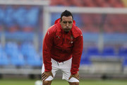 Santi Cazorla of Arsenal during the Pre-Season Friendly between Arsenal and Manchester City at Ullevi on August 7, 2016 in Gothenburg, Sweden.